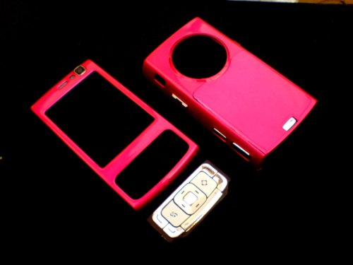 KMS DIRECT - OEM N95 Style-up Housing Fascia cover For The Nokia N95 With Keyboard - PINK