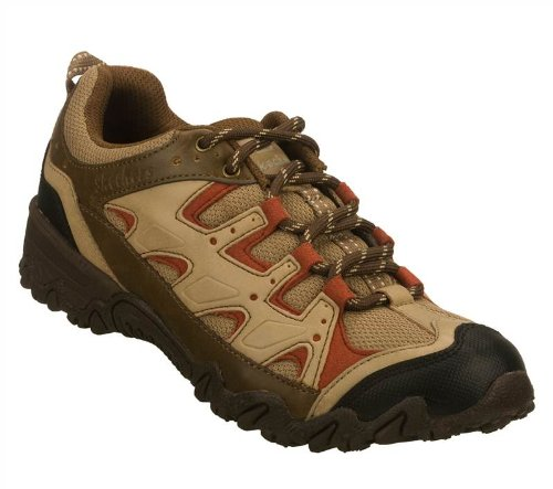 Skechers Women's Compulsions - Kings Canyon (Chocolate/Taupe, 5 M US)