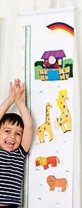 Oskar y Ellen tela noahs tabla de estatura arca de BabyCentre - BebeHogar.com