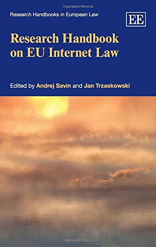 Research Handbook On Eu Internet Law (Research Handbooks In European Law Series)(Elgar Original Reference)