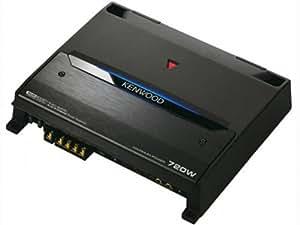 Kenwood Kac-8405 720-Watt 4/3/2-Channel Amplifier with Variable LPF/HPF