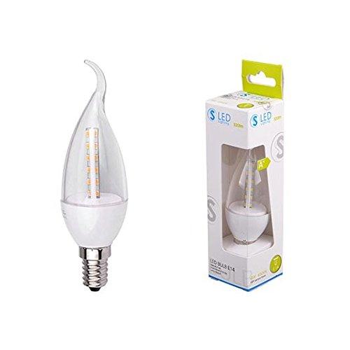 S3S-Leuchtmittel LED Kerze 4W E146500K Kaltweiß