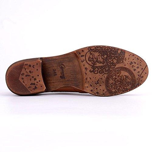 Women Oxford leather shoes E208 (9 B(M)US , A)