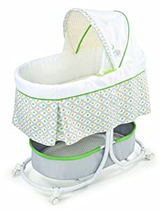 Summer Infant Soothe and Sleep Bassinet with Motion, Sweet Lamb