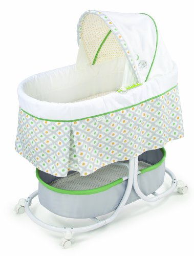 Cheapest Price! Summer Infant Soothe and Sleep Bassinet with Motion, Sweet Lamb