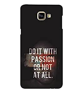 EPICCASE Do it with passion Mobile Back Case Cover For Samsung Galaxy A9 (Designer Case)