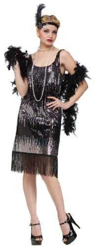 Jazz Baby Flapper Adult Costume