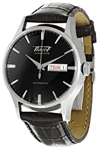 Tissot Men's TIST0194301605101 Visodate Black Dial Watch