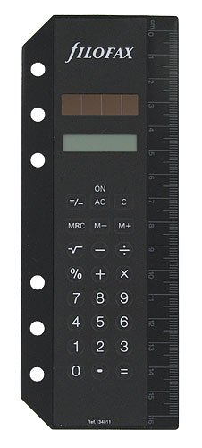 Filofax Accessories Calculator Bookmark Personal