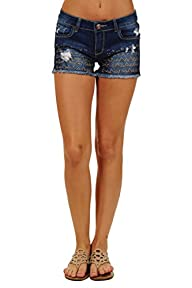 2263 Womens Stretch Jeans Shorts Ultr…
