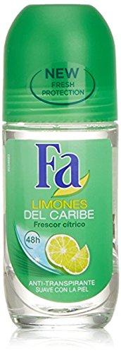 Fa Deodorant 1.7 oz. Roll-On Caribbean Lemon by Fa Products