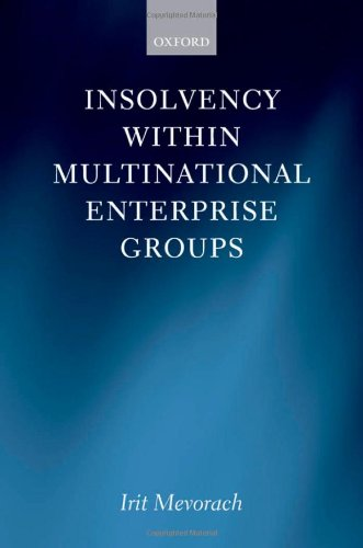Insolvency within Multinational Enterprise Groups