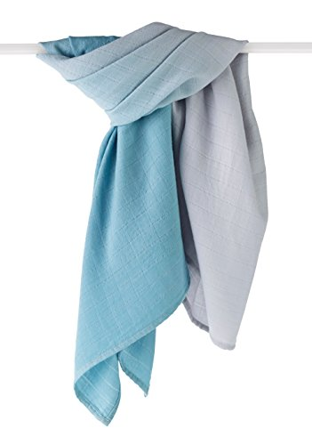 aden + anais Merino Muslin Swaddle, Seaside