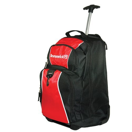 Brunswick Gear Single Roller Bowling Bag (Red)
