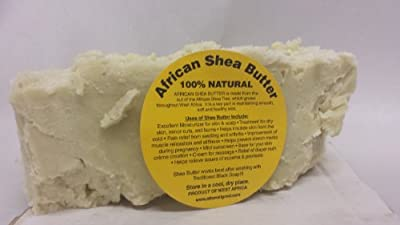 Raw Unrefined Ivory Shea Butter **Lab Tested** Ghana 10 LBS
