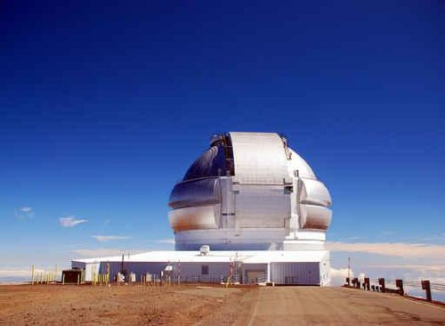 Sky Wall Decals Hawaii-Big Island Mauna Kea Gemini Telescope - 24 Inches X 18 Inches - Peel And Stick Removable Graphic