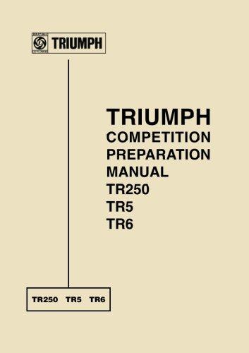 TR250 TR5 TR6, triumph manuel de préparation de concours