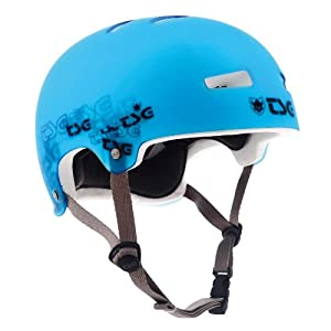 TSG Evolution Graphic Special Helmet blue clear-blue Size:L/XL (57-59 cm)