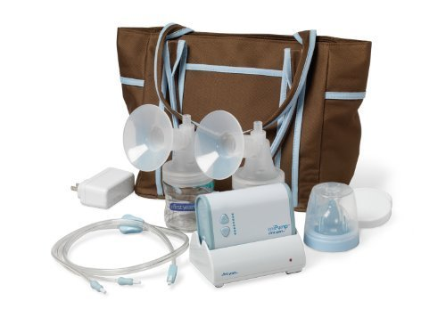 The First Years Breastflow Mipump Double Electric Breast Pump back-1005337