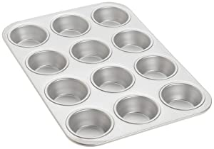 Fat Daddio's 12-Cup Standard Muffin Pan by Fat Daddios