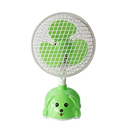 YONG Small mini cartoon fan energy conservation , green