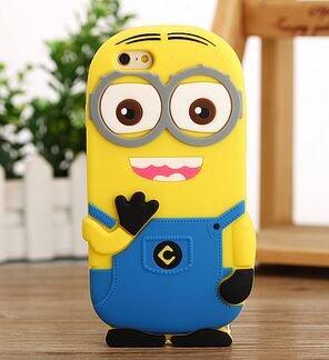 Iphone 6 【4.7インチ】 カバー 怪盗グルーのミニオン 危機一発ミニ オンシリコンケース silicone case iPhone 6 case
