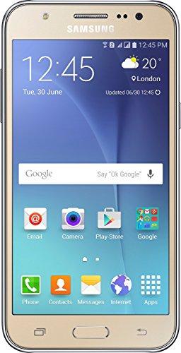 Samsung Galaxy J5 Dual SIM LTE J500M/DS 16GB - Factory Unlocked Phone - Gold (Samsung Quad Band Unlocked Phones compare prices)