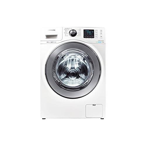 Samsung WF80F7E6U6W 8kg 1600rpm Freestanding Ecobubble Washing Machine in White