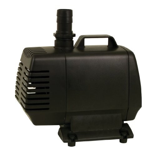 Tetrapond water garden pump 1900 gph the lawn garden for Best pond pump for small pond