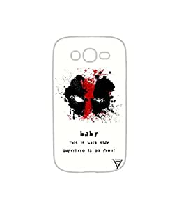 Vogueshell Baby This is Back Side Printed Symmetry PRO Series Hard Back Case for Samsung Galaxy Grand Neo