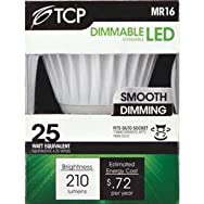 TCP MR16 Dimmable LED Floodlight Light Bulb-6W GU10 LED 30K BULB