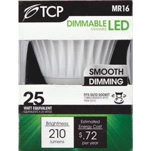 Tcp Rlmr166Gu1030K Led 6-Watt Gu10 Mr16 Flood, 40-Degree, Warm White