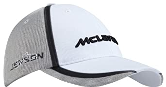 Mclaren mercedes unisex genuine 2014 jenson button head for Mercedes benz hat amazon