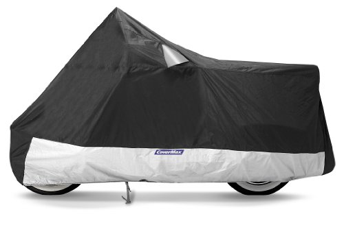 CoverMax Deluxe Motorcycle Cover Fits Touring/Full Dress 1500cc And Larger With Fairings And Bags Extra Large XL CMD-150
