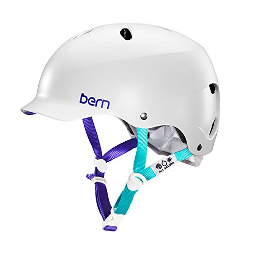 Bern Unlimited Lenox EPS Summer Helmet, Satin White, Medium/Large