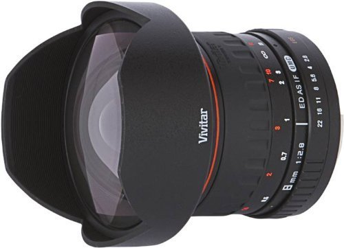 Vivitar 8 mm f / 3.5 IF MC Fisheye Lens for Canon - EOS 7D Black Friday & Cyber Monday 2014