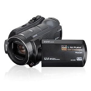 Vivikai® Hdv-d350 the Frist Projected Full Hd 1080p 12mp Digital Camcorder Black