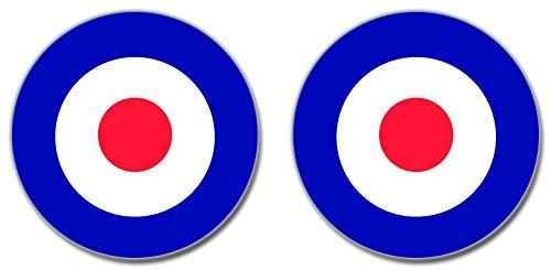 british-raf-air-force-roundel-vinyl-sticker-decal-86mm-2-off