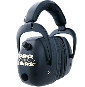 Pro Ears Pro Mag Gold Electronic Hearing Protection & Amplification Ear Muffs by Pro Ears