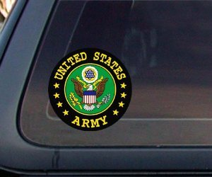U.S. ARMY Seal Car Decal / Sticker (Army Seal compare prices)