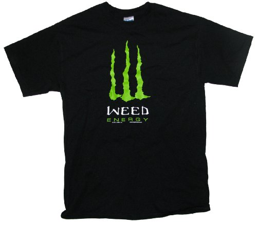 Marijuana T-shirt Weed Energy Pot Tee-xl