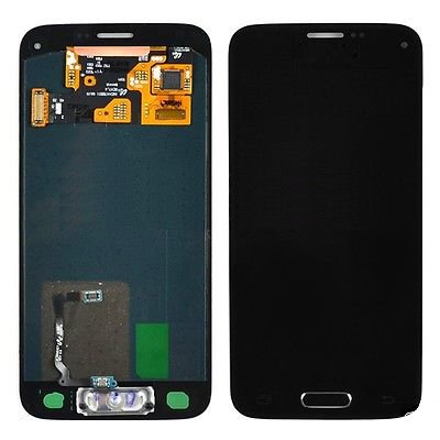 Lcd Display Touch Screen Digitizer Assembly With Home Button Flex For Samsung Galaxy S5 Mini G800 G800H + Free Tools (Black)