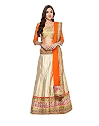 Yepme Women's Multi-Coloured Blended Lehengas - YPMLEHG0098_Free Size