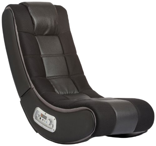 V Rocker Se Video Gaming Chair, Wireless, Black With Grey