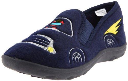 Ragg Toddler/Little Kid Slip On Hybrid Slipper, Navy -6 front-732315