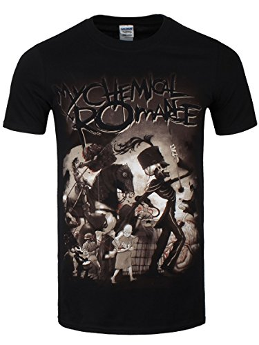 My Chemical Romance On Parade T-Shirt nero S