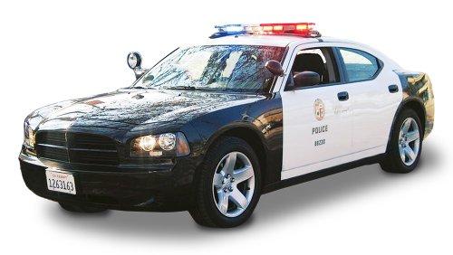 Lindberg Models Dodge Charger Los Angeles State Patrol Car 1/24 Precision
