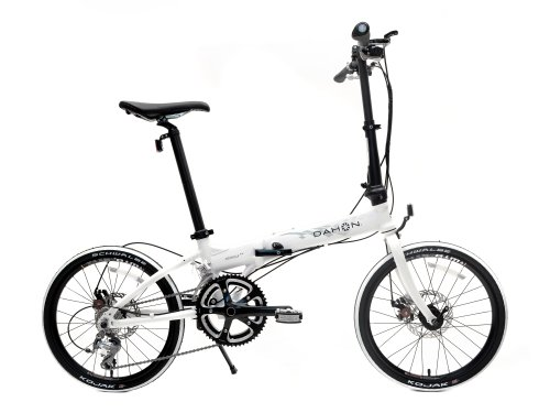 Dahon Formula S18 Folding Bike, White, One Size