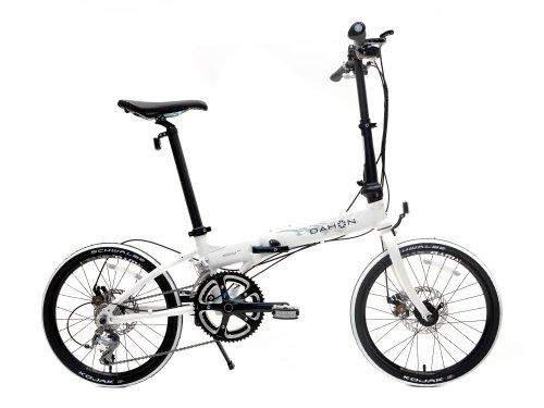 Dahon Formula S18 Folding Bike, White, One Size