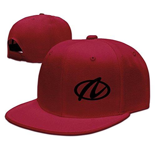 t-ukco-aurora-logo-unisex-fashion-adjustable-baseball-cap-hat-red